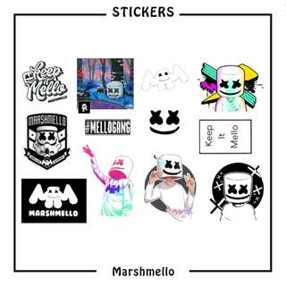 Marshmello Stickers ( D1 )