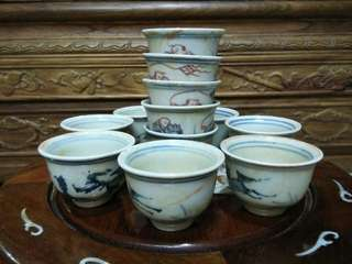 Old Chinese tea cup
