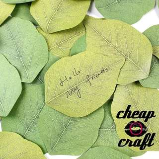 3pcs Green Leaves Sticky Note