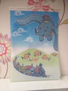 dumbo clear file official tokyo disney resort