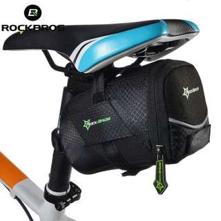 ROCKBROS Bicycle Saddle Bags Cycling Rear Seat Tail Bag Pack MTB Road Cycle Bike Saddle Seat Bags Basket