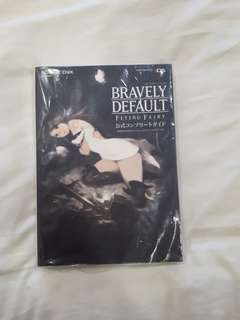 Bravely Default Flying Fairy Official Complete Guide (Japanese)