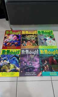 Mr Midnight (6 books)