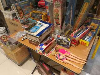 Toys for sale at Havelock 2 #03-27. Clarke Quay MRT exit.A