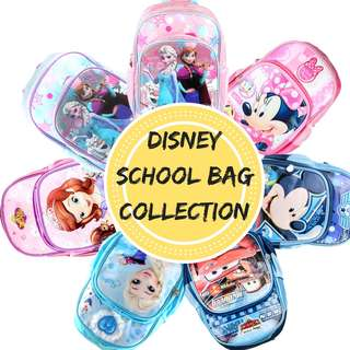 Disney School Bag Backpack for Primary & Preschool