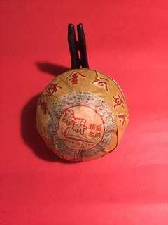 普洱茶:華聨2012 年金瓜貢茶(熟茶)