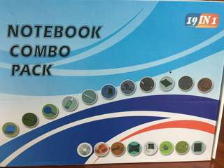 19IN1 Notebook Combo Pack