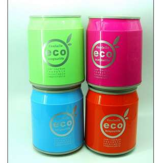 Eco Garbage Bin 11.5 inches (Drink in Can Design/ 4 Colors)