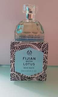 Fijian water lotus perfume, Fijian water lotus shower grl