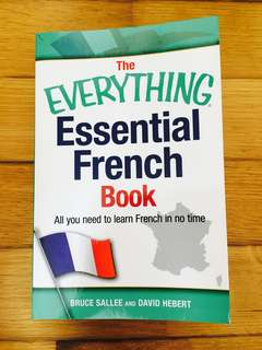 Essential French Book for Learning