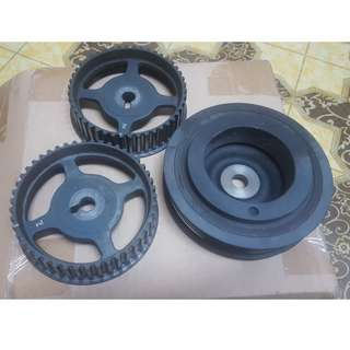 Cam pulley & Crank Pulley Standard Campro