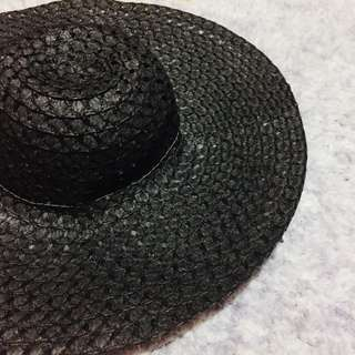 Black Summer Hat
