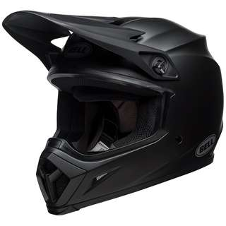 Bell MX-9 MX 9 with MIPS Equipped Top Model Motorcycle Motorbike Off Road Adventure Motocross Motor Cross Helmet Solid Matte Black SIZE SMALL MEDIUM LARGE X-LARGE XX-LARGE  X-SMALL XS e scooter e-scooter electric scooter helmet