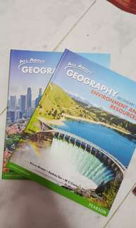 sec 1 and 2 GEOGRAPHY textbook