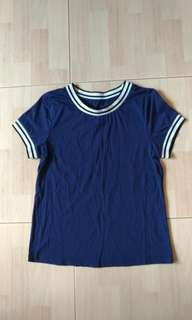 Blue ladies tee shirt