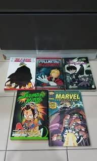 5x comic books