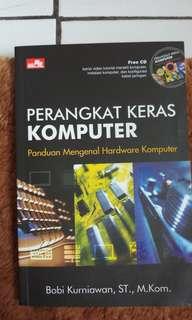 "PERANGKAT KERAS KOMPUTER ""FREE CD TUTORIAL MERAKIT KOMPUTER, INSTALASI KOMPUTER, DAN KONFIGURASI KABEL JARINGAN"""