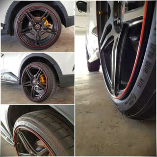 New Gen Rim Protector (PVC not rubber)
