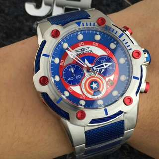 INVICTA MARVEL CAPTAIN AMERICA LIMITED EDITION
