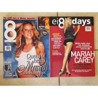 8 Days magazines - Mariah Carey