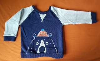 Mothercare Cotton Lined Jumper