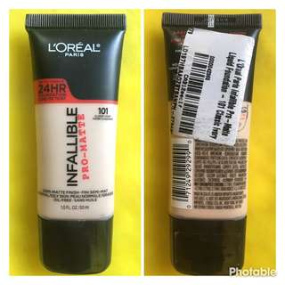 Auth Loreal Infallible
