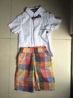 Excellent condition rainbow suit for boys