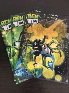 [3 FOR $5] Ben 10 A4 Files