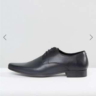 ASOS 紳士 黑色 皮鞋 英國 新郎 伴郎
