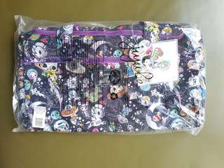 Ju-Ju-Be x Tokidoki Limited Edition Space Place Starlet soft duffel gym or travel bag