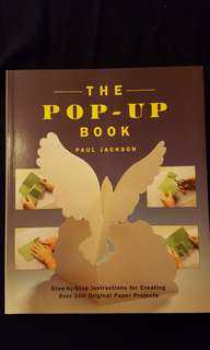 The Pop-Up Book by Paul Jackson
