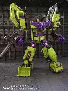 Transformers devastotor