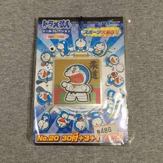 全新Doraemon日本正版貼紙集