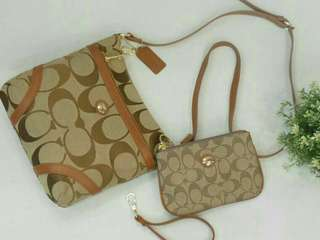 Coach Sling Bag set