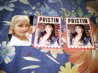 (WTT ONLY) Pristin Photocards
