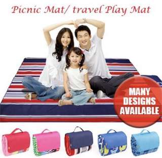 CHEAPEST Funnimals Nado Travel Play Mat / Picnic Mat for Family Outing Party