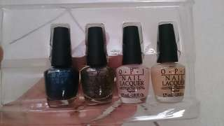 Original O.P.I nail lacquer (4pieces)