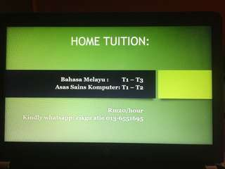 tuition BM dan ASK