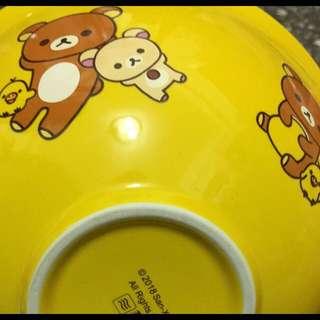 7-11 拉拉熊 大陶瓷碗 黃色 現貨3