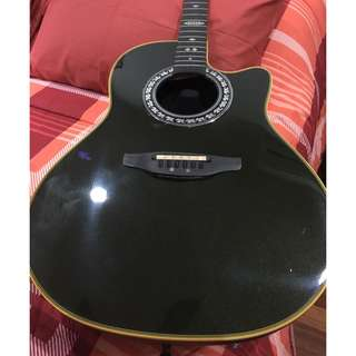 Ovation Guitar & Trace Acoustic Amp
