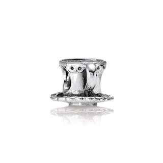 Pandora Charm Cup and Saucer silver charm