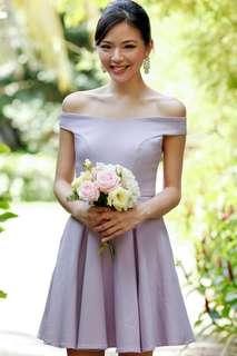 The velvet doll Arianna Bridesmaid Dress Lilac