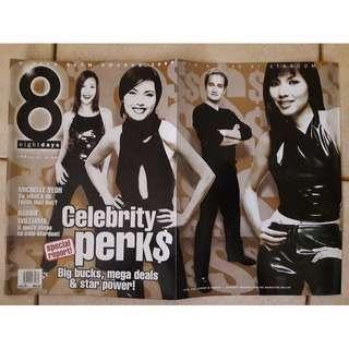 8 Days magazine  - Glam Awards 2000