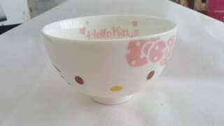 Hello Kitty Rice Bowl Made In Japan