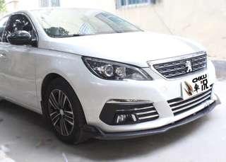 Peugeot 308 Front Lip