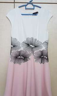 BRAND NEW Pink & White Floral Dress