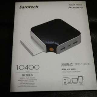 Sarotech SPB10400 smart power bank 韓國牌子充電器