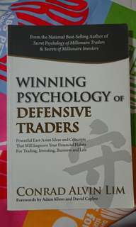 Winning Psychology of Defensive Traders - Conrad Alvin Lim