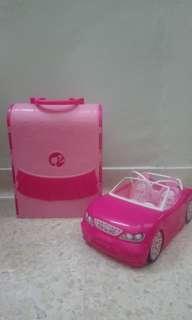 Barbie Dollhouse and Car