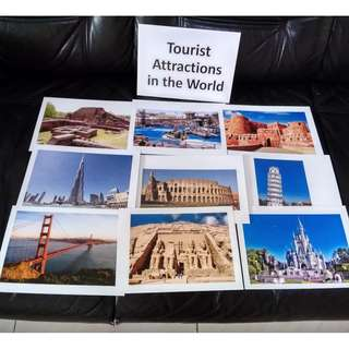 Tourist Attractions in the World - BN Flashcards